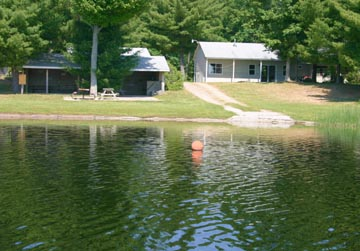 Pickerel Lakeside Campground & Cottages - Cottages View