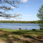 Pickerel Lake - Burnpit and Lake