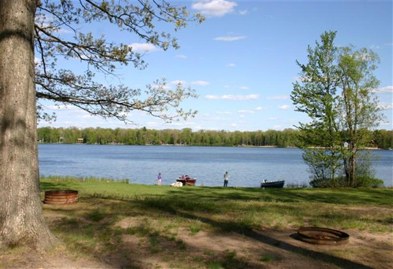 Photo of Pickerel Lake from Campsite