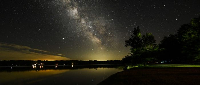 Milky Way from Our Boat Launch
